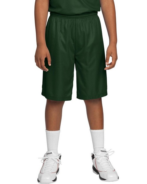 Sport-Tek YT560 Youth PosiCharge Mesh Reversible Shorts by Port Authority