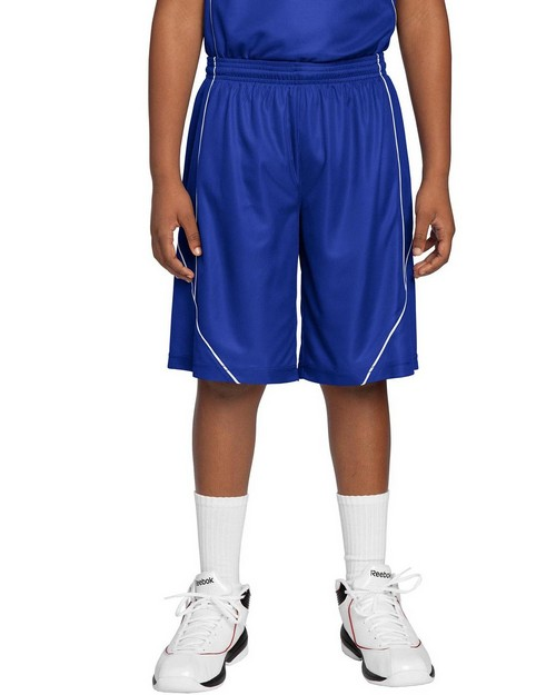Sport-Tek YT565 Youth PosiCharge Mesh Reversible Spliced Short by Port Authority