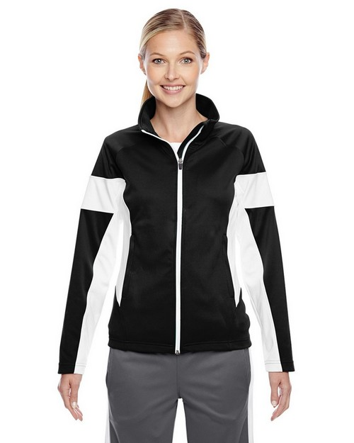 Team 365 TT34W Ladies Elite Performance Full-Zip Jacket