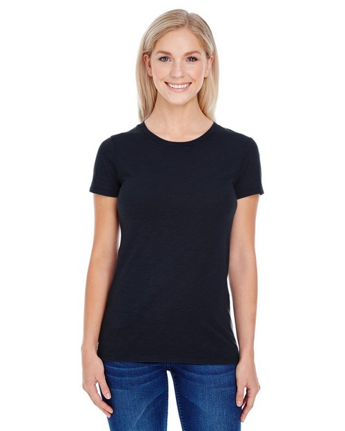 Threadfast Apparel 201A Ladies Slub Jersey Short-Sleeve Tee