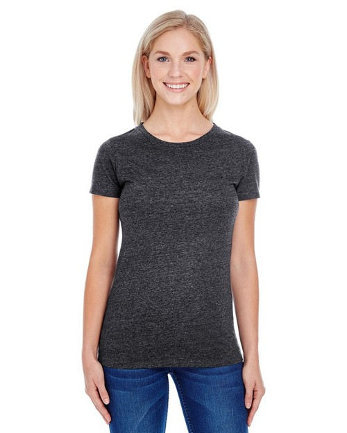 Threadfast Apparel 202A Ladies Triblend Short-Sleeve Tee