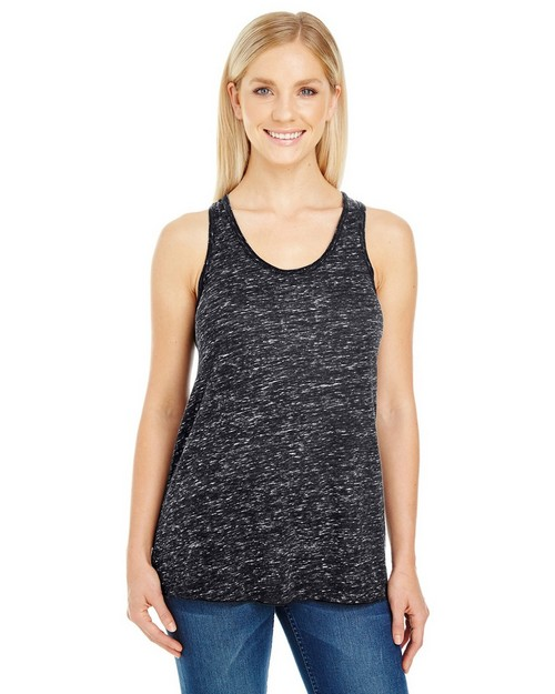 Threadfast Apparel 204FR Ladies Blizzard Jersey Flowy Racer Tank