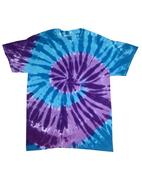 Tie-Dye 1180 Tie Dye Adult Island Collection d Tee