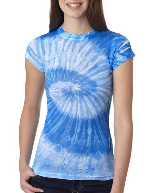 Tie-Dye 1455 Tie-Dyed Ladies Sublimation Tee