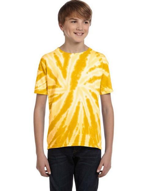 Tie-Dye CD110Y Youth 5.4 oz. 100% Cotton Tie-Dyed T-Shirt