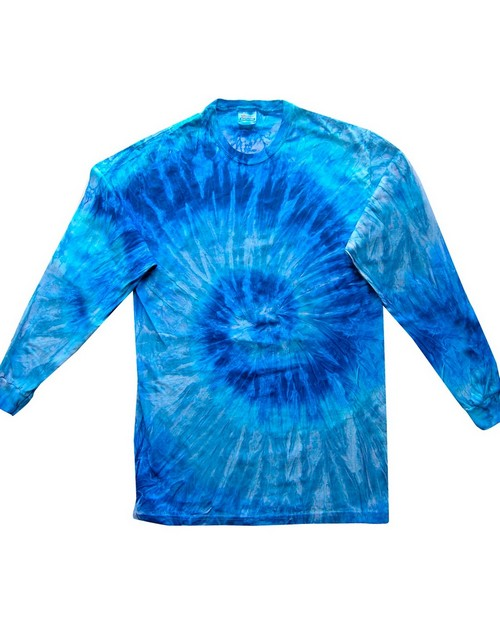 Tie-Dye CD2000Y CD Youth Long Sleeve Tie Dye T-Shirt
