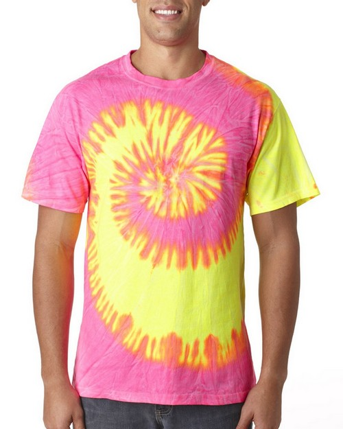 Tie-Dye H1000 Tie-Dyed Adult Cotton Tee
