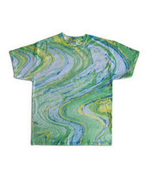 Tie Dye HM1111B Youth Marble Cotton Tee