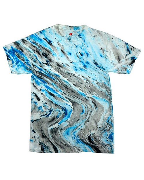 Tie Dye HM1111 Adult Marble Cotton Tee
