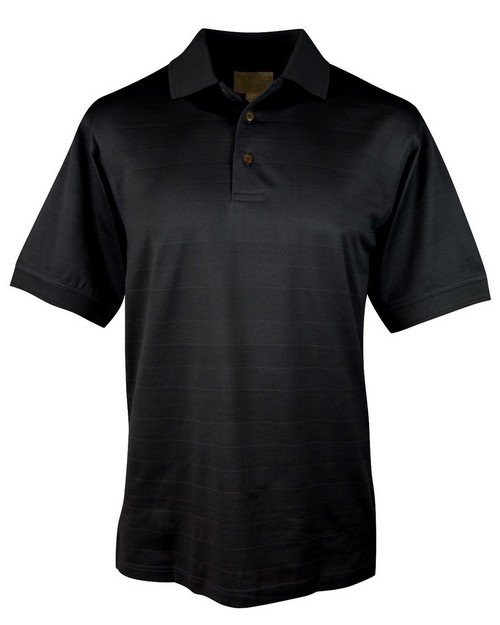 Tri Mountain Gold 528 Covington Double mercerized cotton golf shirt