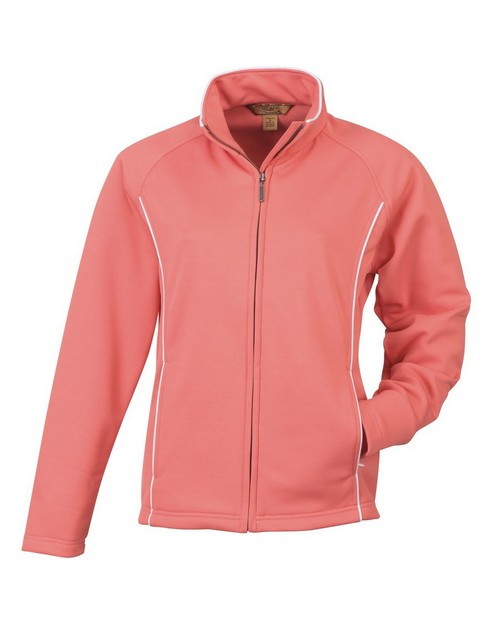 Tri Mountain Gold 7392 Pacifica Women's Pique Fleece Knit Jacket