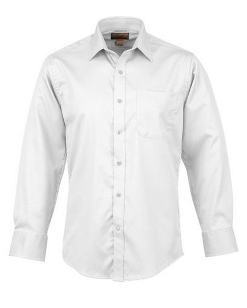 Tri-Mountain Gold 980 Blake Men Cotton Non-Iron Twill Dress Shirt