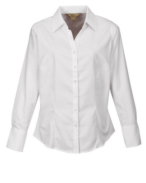 Tri Mountain Gold 983 Brea Women's Herringbone Woven Shirt