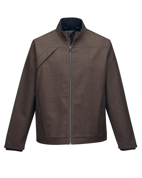 Tri Mountain Gold J6468 Overland Men's Bonded Zip Smoky Jacket