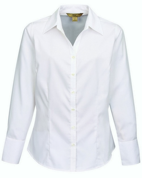 Tri Mountain Gold WL982 Roseville Women's Dobby Woven Fabric Shirt