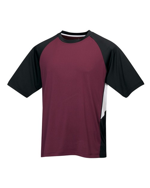 Tri-Mountain Performance 024 Men's Knit Crew Neck Tee