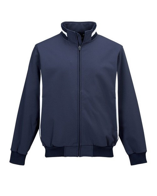 Tri-Mountain Performance 6430 Men's 88% polyester & 12% Spandex bonded stretch woven water resistant Jacket