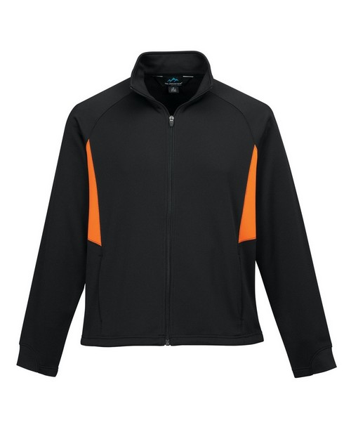 Tri-Mountain Performance 7348 Men's 100% polyester long sleeve jacket with UC