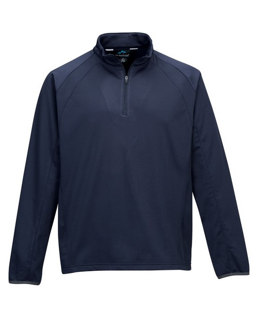 Tri-Mountain Performance 7355 Men's 100%Poly Fleece long sleeve ULTRA COOL jacket