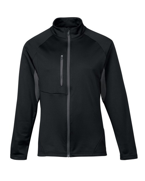 Tri-Mountain Performance 7359 Men's 100% Polyester Fleece long sleeve jacket