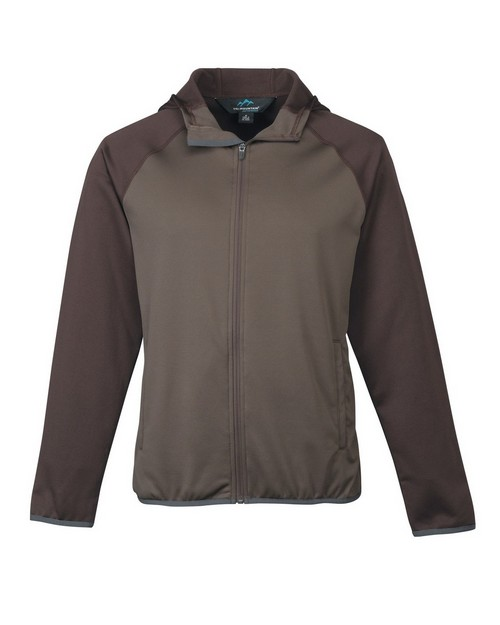 Tri-Mountain Performance 7389 Men's 100% Poly Fleece long sleeve ULTRA COOL jacket with hood