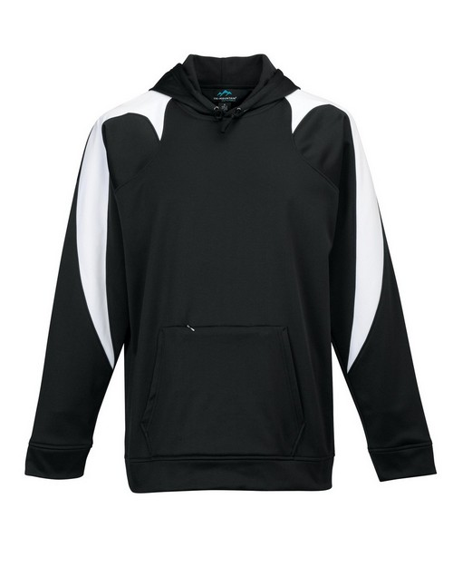 Tri-Mountain Performance 7686 Men's 100% Poly Fleece long sleeve ULTRA COOL jacket with hood