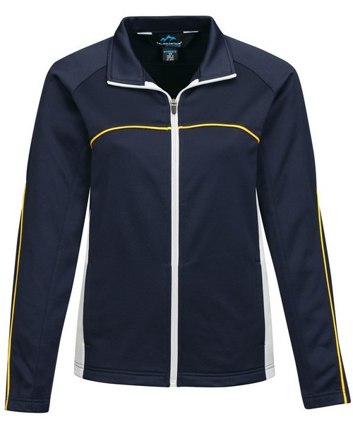 Tri-Mountain Performance FL7356 Women's 100% Polyester Fleece Full Zipper W/Raglan Sleeves