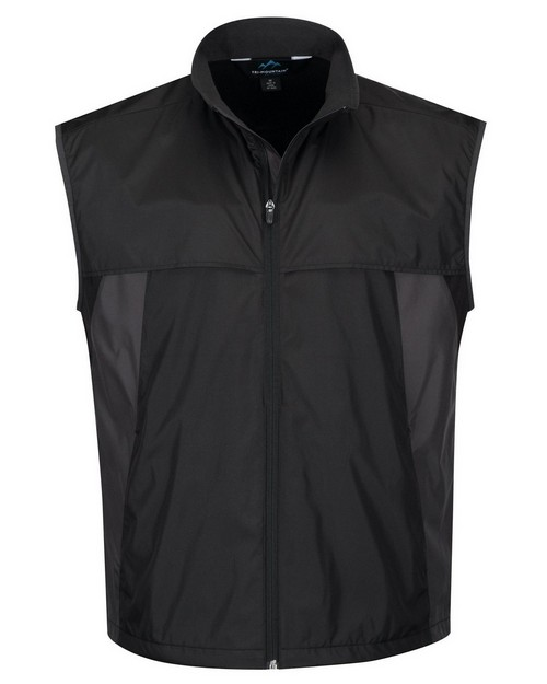 Tri-Mountain Performance J1100 Men's 100% Polyester Reverse Nylon Full Zip Front Placket
