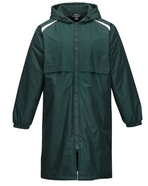 Tri-Mountain Performance J9950 Men's 100% Nylon Taslon Coat With Poly Fleece Lining