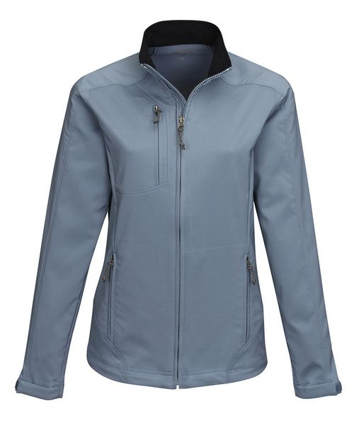 Tri-Mountain Performance JL6205 Womens Full Zip Dobby Jacket