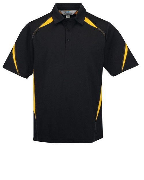Tri-Mountain Performance K119 Men's 100% Polyester Birdeye Polo