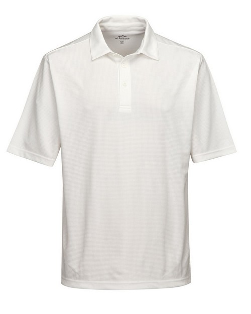 Tri-Mountain Performance K411 Men's 100% Polyester Knit S/S Golf Shirt