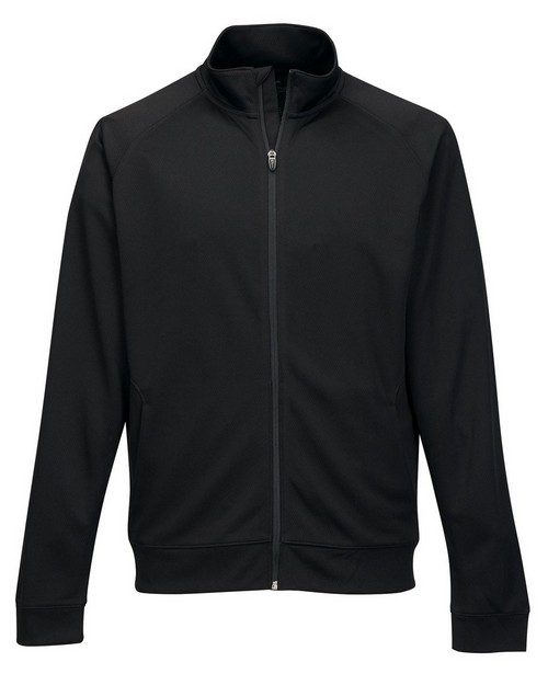Tri-Mountain Performance K630 Men's 100% Polyester Knit Full Zip Jacket