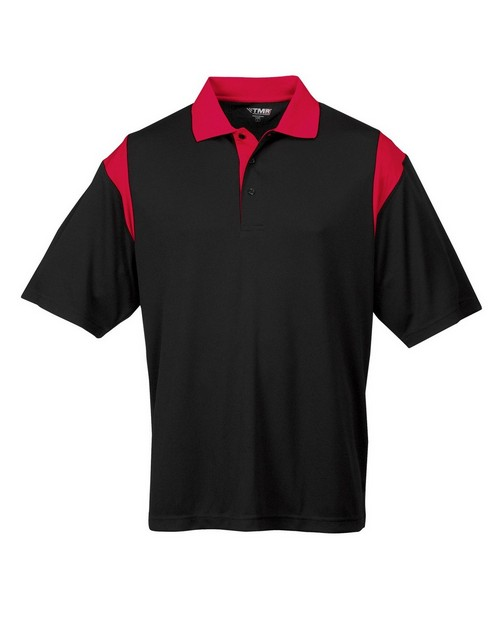 Tri-Mountain Racewear 217 Men's AULTRA COOLÄ short sleeve golf shirt