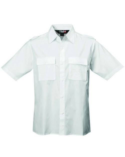 Tri-Mountain Racewear 918 60/40 easy care slim-fit shirt