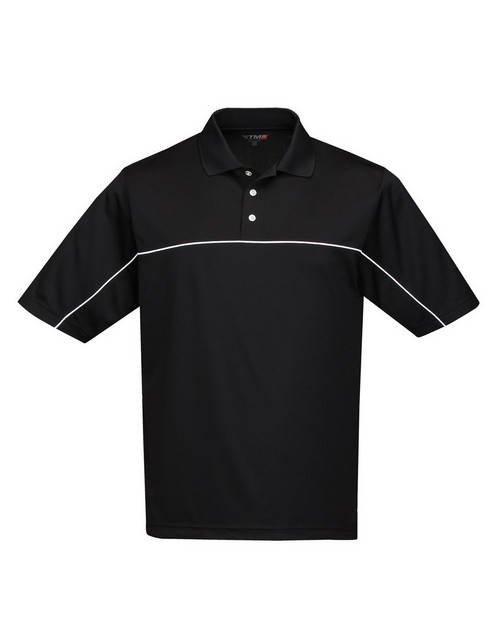 Tri-Mountain Racewear K908 Men's 100% Polyester Color Blocking Polo Shirt