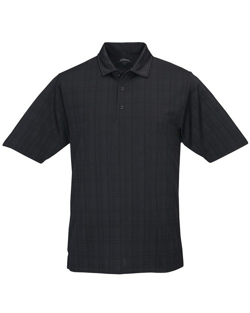 Tri-Mountain 023 Men's Jacquard Knit Polo Shirts