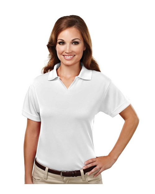 Tri-Mountain Performance 104 Ambition Mesh Johnny Collar Golf Shirt