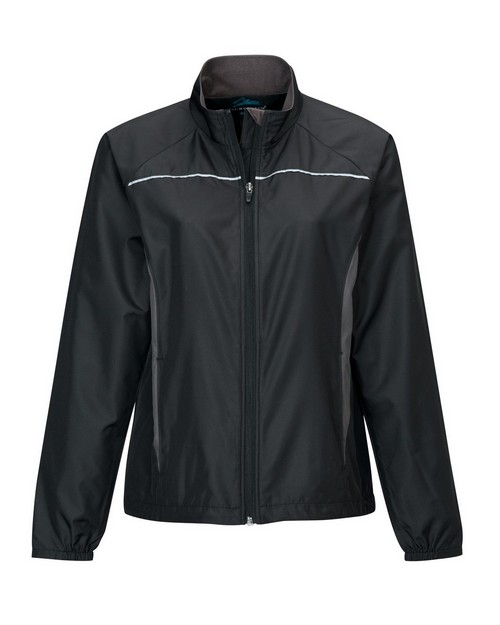 Tri-Mountain 1060 Women's Micro Dobby Long Sleeve Jacket