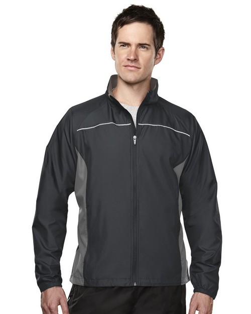 Tri-Mountain 1080 Sprint Polyester Micro Dobby Long Sleeve Jacket