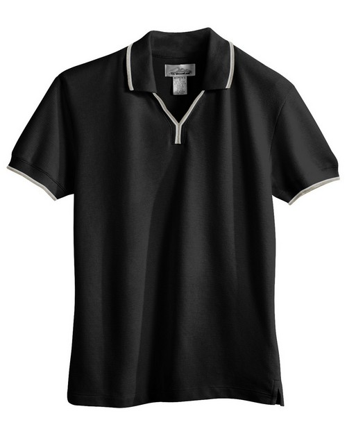 Tri-Mountain 112 Women's UltraCool mesh johnny collar golf shirt