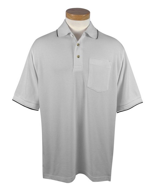 Tri-Mountain 117 Conquest UltraCool Mesh Pocketed Golf Shirt