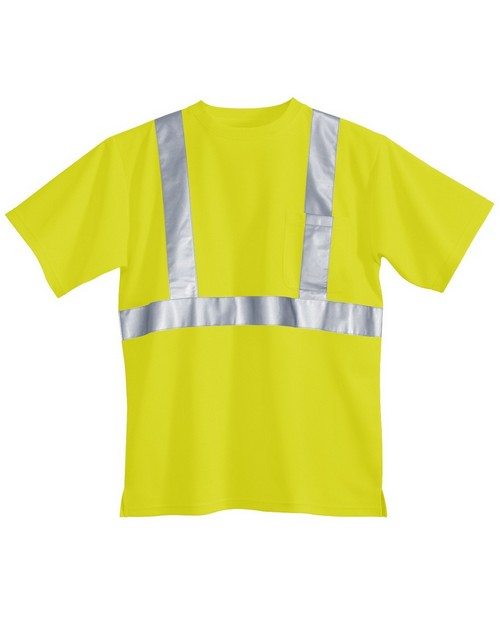 Tri-Mountain 222 Polyester safety shirt ANSI Class 2/Level 2