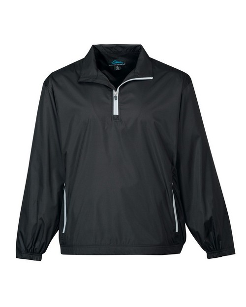 Tri-Mountain 2640 Mens Poly Micro Wind Coat With Mesh Lining
