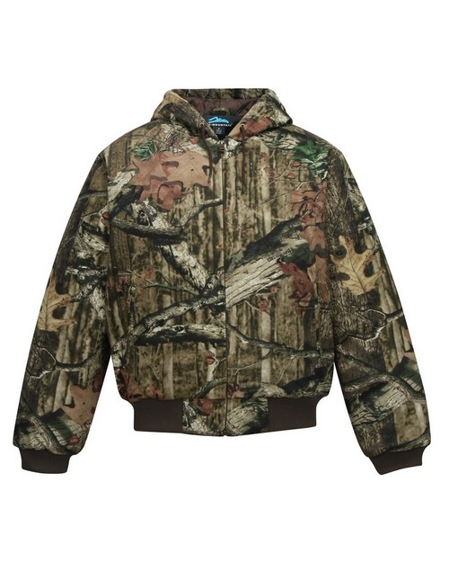Tri-Mountain 4686C Heavyweight work jacket with Realtree APÉ pattern