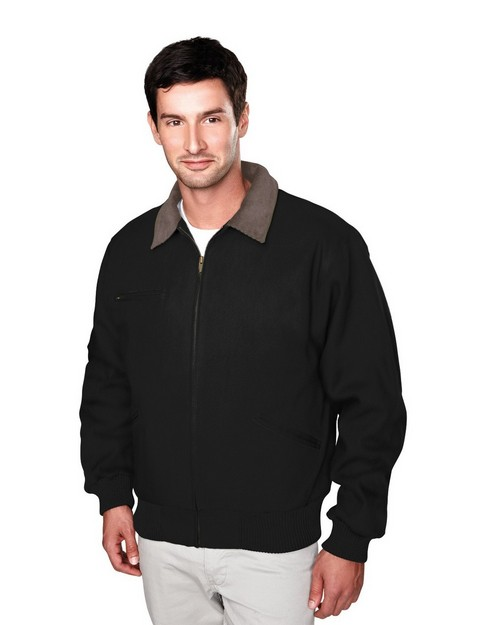 Tri-Mountain 4700 Cotton canvas work jacket with removable wool liner