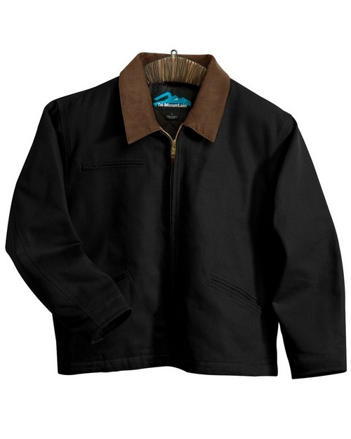 Tri-Mountain 4800 Cotton canvas work jacket with quilted lining