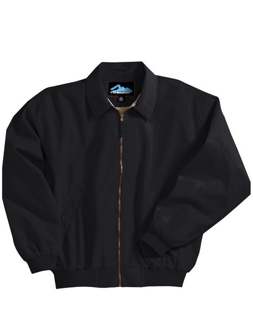 Tri-Mountain 6000 Achiever Microfiber Jacket with Poplin Lining