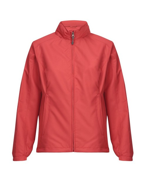 Tri-Mountain 6013 Women's 100% Polyester long sleeve jacket with water resistent