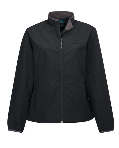 Tri-Mountain 6220 Women's 100% polyester long sleeve jacket with water proof